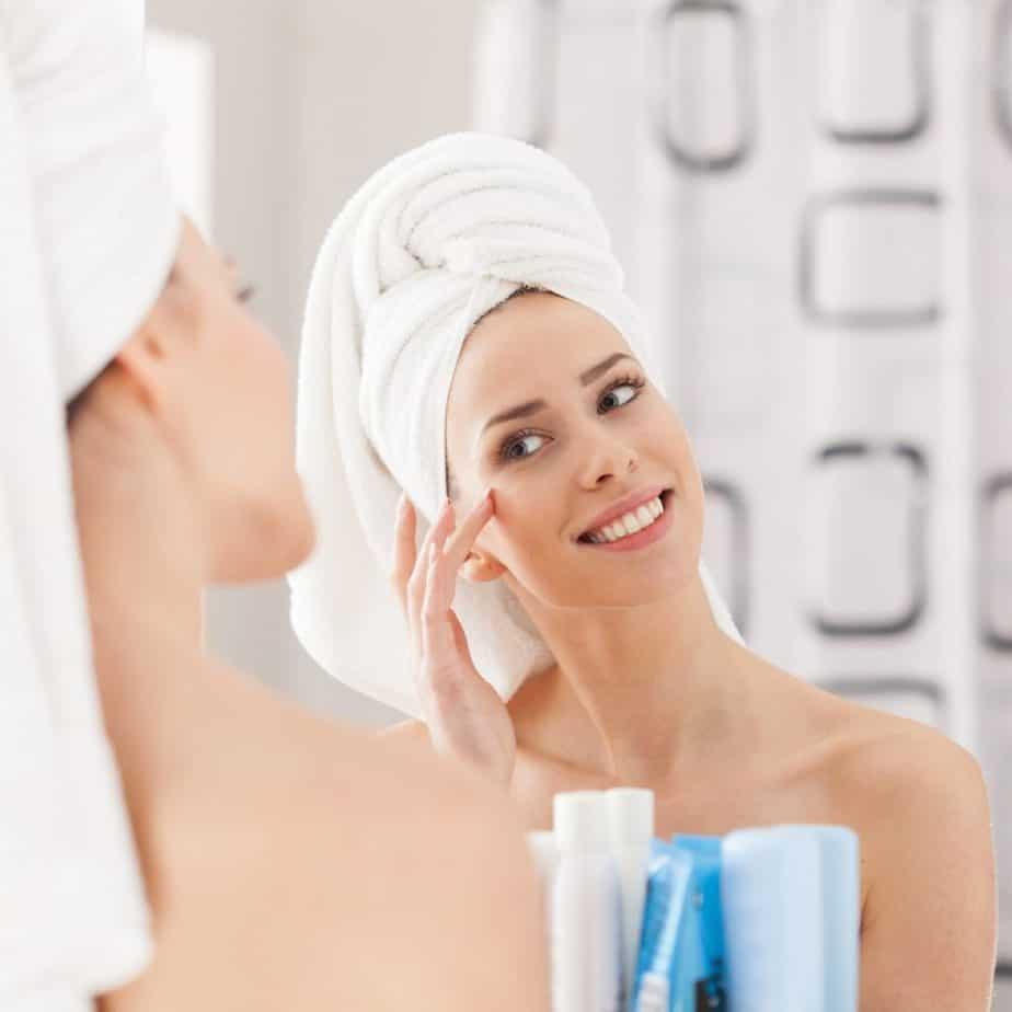 Herschel badkamerspiegelverwarmer die niet beslaat en schimmel helpt verminderen