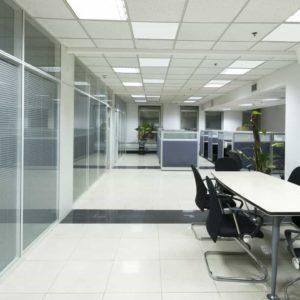 Infrarood plafondverwarmers voor kantoren