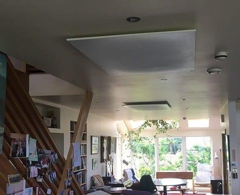 Plafond gemonteerde Herschel panelen