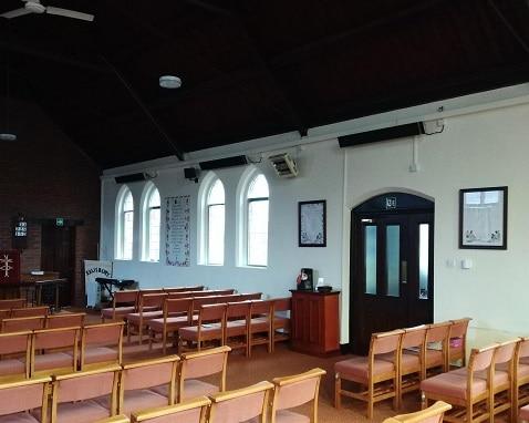 kerk verwarmingssystemen