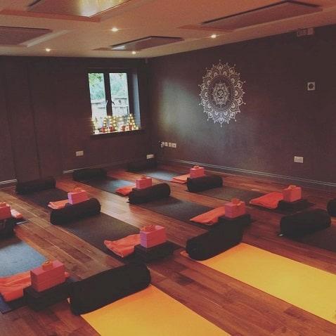 verwarming yogastudio's